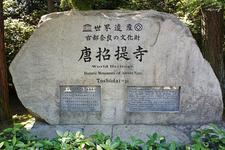 Toshodaiji Stone
