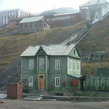 View Of Barentsburg