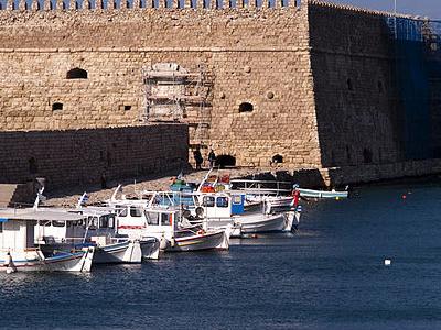 The Venetian Fortress Of Rocca Al Mare