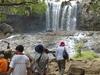Tourists At Bou Sra Waterfall.
