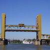Tower Bridge Raised Halfway