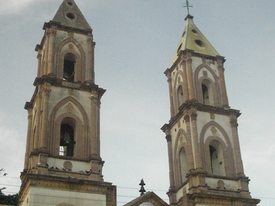 Towers Of The Parish Church Of San Miguel Arcngel One Of Several