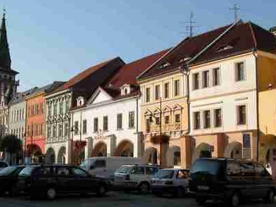 Town Square In Chomutov