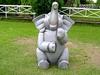 Toys Elephant In Garden