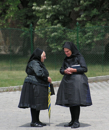 Tradition Women Dress In Hungary