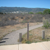 Trail Leading From Picnic Area To Verde River