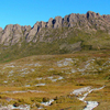 Trail Passing By Kitchen Hut West Of Cradle Mountain