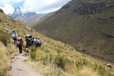 Trail Up Mount Kenya