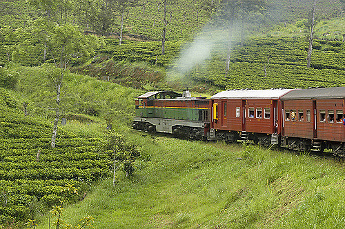 Train Journeys in Sri Lanka Photos