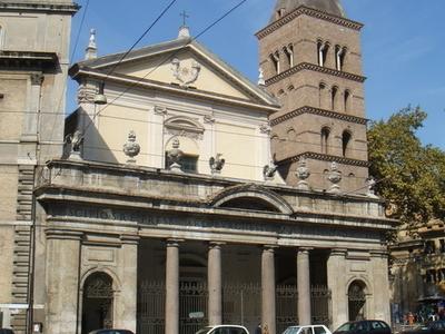 Façade Of The Basilica