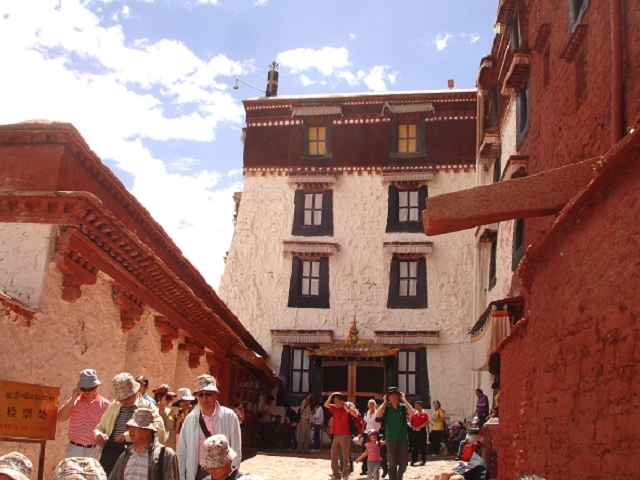 Single Traveler's Tour Lhasa of Tibet Photos