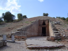 Treasury Of Atreus - Mycenae - Greece