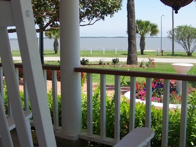 Tres Palacios Bay From Porch