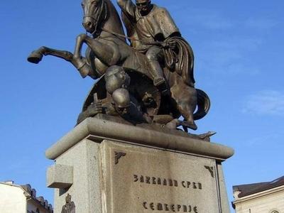 Petar Karadordevic Monument
