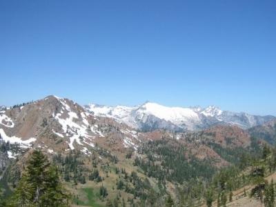 Trinity Alps Near Granite Lake