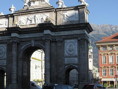 Triumphal Arch,Innsbruck, Austria