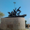 Triumph Of Labour At Marina Beach