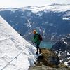 Trolltunga Trail In Winter