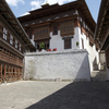 Interior Courtyard In Trongsa Dzong