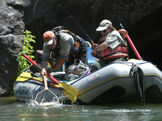 Gunnison River Gorge Float Fishing Photos