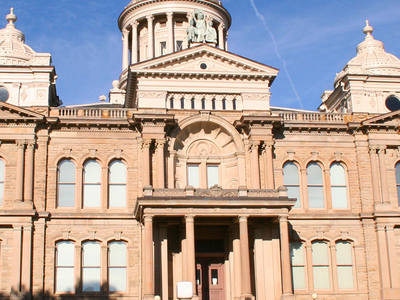 Troy  Ohio  Courthouse