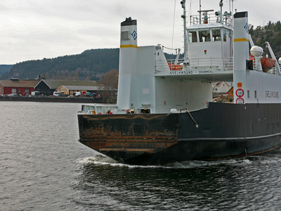 The Svelvik Ferry Line Is The Shortest In Norway