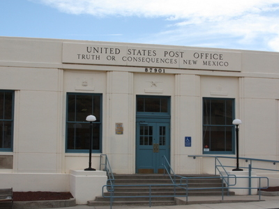 Truth Or Consequences Post Office