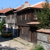 Traditional Wooden Houses In Vasiliko