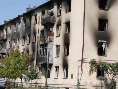 Tskhinval After  Georgian Attack