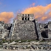 Tulum Mayan Ruins Of Yucatan