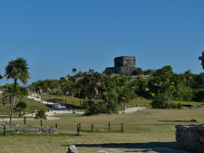 Tulum Mayan Ruins Site In QROO