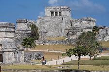 Tulum Ruins At Quintana Roo - Mexico