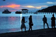 Tunku Abdul Rahman Park - Beach