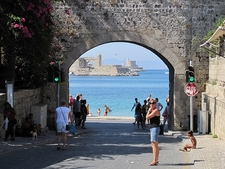 Tunnel To The Sea @ Rhodes - Dodecanese Islands