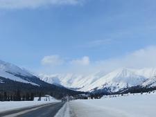Turnagain Pass Landscape In Alaska