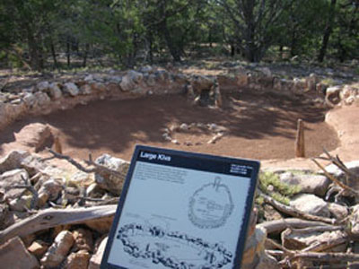 Tusayan Ruin And Museum - Grand Canyon - Arizona - USA