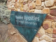 Twelve Apostles Name Plaque - Victoria AS