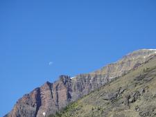 Twin Falls Trail Views - Glacier - Montana - USA