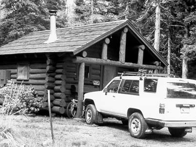 Two Medicine Campground Camptender's Cabin - Glacier - USA