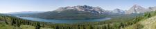 Two Medicine Pass Trail Views At Glacier - Montana - USA
