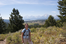 Two Ocean & Emma Matilda Lakes Hiker - Grand Tetons - Wyoming - USA
