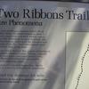 Two Ribbons Trail Signage - Yellowstone - USA