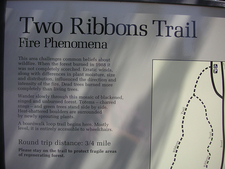 Two Ribbons Trail Signage - Yellowstone - USA