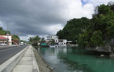 Typical Weather Scene In Koror