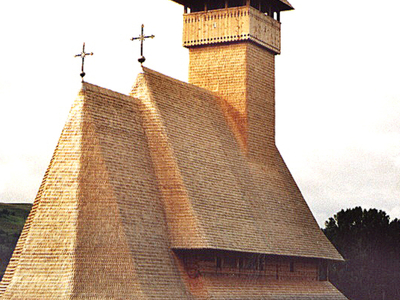 Typical Wooden Church