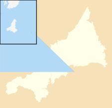 Tywardreath Is Located In Cornwall