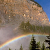 Rainbow Over Takakkaw Falls
