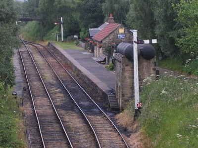 Andrews House Station