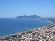 Mount Circeo From Terracina