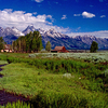 Teton Valley Wyoming Near Jackson Bordering Idaho